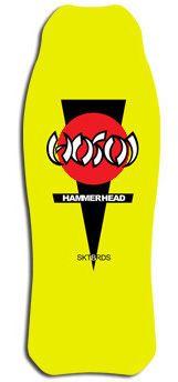 Hosoi Skates Hammerhead OG Re-Issue 10.37 Skateboard Deck