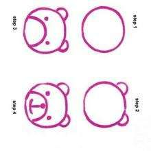 week 1 simple bear cub easy animal drawingseasy - Easy Drawing Pictures For Kids