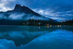 Reflection, Emerald Lake, British Columbia, Canada