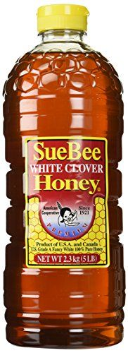 Suebee Clover Honey, 5-Pound Container => Instant Savings available here : Baking supplies