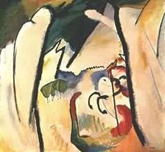 Wassily Kandinsky - São Jorge - 1911