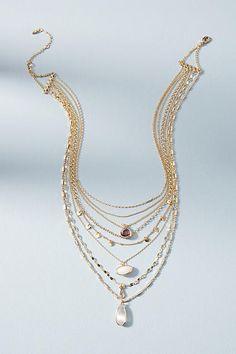 Anthropologie Ramona Layered Stone Necklace