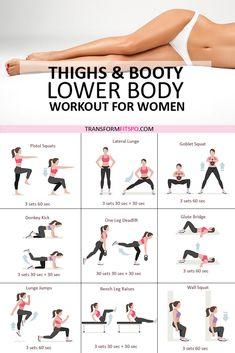 👙Sexy Summer Full Leg Workout – Lower Body Workout for Women