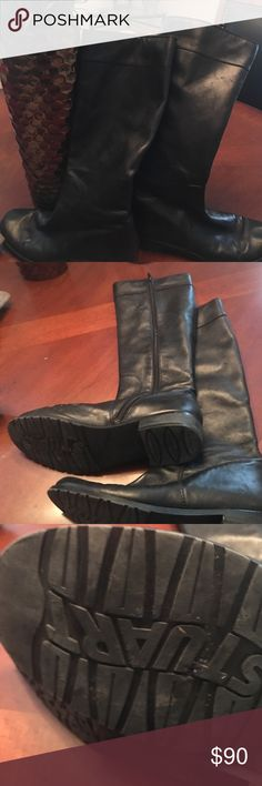❤️winter sale❤️Stuart Weitzman boots Gently worn. Very soft leather. Final price drop Stuart Weitzman Shoes Heeled Boots