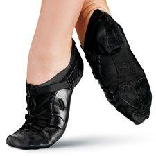 Fizzion Adult Black Jazz Shoe; Capezio