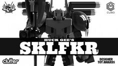 Clutter Magazine are proud to announce their latest project with Huck Gee. HUCK GEE'S SKLFKR