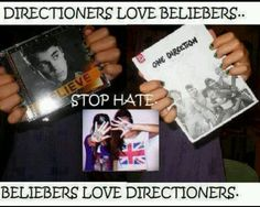 Lets just get along. :) <<< i 1000000000% agree. We would be unstoppable. Exept beliebers dont hav ppl skills lol i love BELIEBERS!!!!