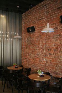 #designmk #industrial #style #coffee #bar #skopje #interior #design #brick