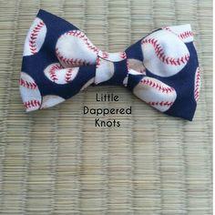 Baseball bowtie for boys boys Bowties boys by LittleDapperedKnots