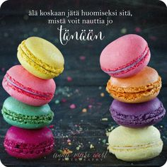 in my early ocdc, anxiety, depression, ed; but I can't resist macarons Beautiful Mind, Happy Colors, Something Sweet, Macaroons, Cool Words, Photo Editing, Stock Photos, Art Prints, Baking
