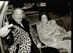 salvador dali + fur