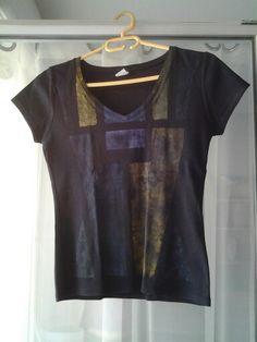 Tee shirt peint