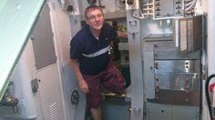 Tony and USS Bowfin