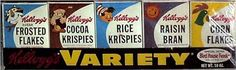 Kellogg's Variety Pack - you never wanted to be stuck with the Corn Flakes...