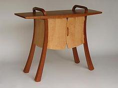 """Vest-Front Hall Table"" Wood Console Table  Created by Steven M. White"