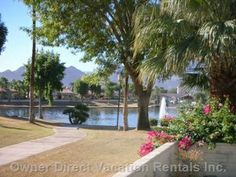 Great vacation home in La Quinta with large and spacious living space, views of the lake from the huge patio on one side and views of the Santa Rosa mountains from the other side - gas fireplace and gas fire pit on patio. Fire Pit Patio, California Vacation, Great Vacations, Holiday Wishes, Home Photo, The Other Side, Gas Fireplace, Vacation Rentals, Lodges