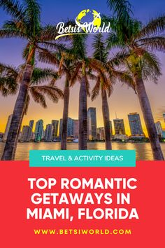 The food, the art, the vibrancy of this city all meld together to create a good romantic getaway for you! These travel and activity ideas for your Miami getaway are great to keep in mind for tons of romance and ambiance! #Miami #MiamiGetaway #Travel Florida Vacation, Florida Travel, Usa Travel, Best Romantic Getaways, Romantic Travel, Cool Places To Visit, Places To Travel, Travel Destinations, Group Travel