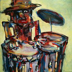 El Conguero Art by Raul Fernandez Aer www.zhibit.org/rfernandez
