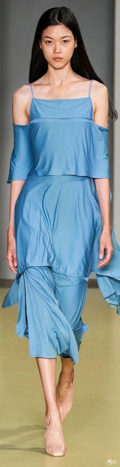 Blue Fashion, Spring Fashion, High Fashion, Capsule Outfits, Italian Fashion Designers, Shades Of Blue, Fashion Boutique, Salvatore Ferragamo, Collections