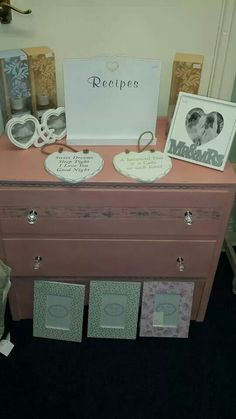 Some of our lovely frames and signs