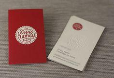 Letterpress Business Cards Design - 10