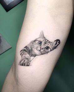 Cat tatoo tatoo ideas cat tattoo designs, cat tattoo a tatto Cat Tattoo Designs, Unique Tattoo Designs, Unique Tattoos, Beautiful Tattoos, Simple Mens Tattoos, Cute Animal Tattoos, Cute Cat Tattoo, Kitten Tattoo, Tattoo Animal