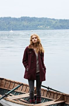 BP. Coat, Frenchi® Sweater & Articles of Society Jeans #Nordstrom #BPNordstrom #FallTrend