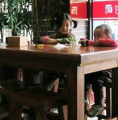 Dalian noodle restaurant staff Dalian China, Noodle Restaurant, Kitchen, Furniture, Home Decor, Cooking, Decoration Home, Room Decor, Kitchens