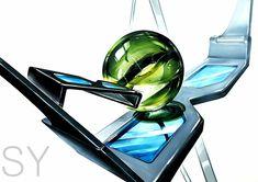 15#기초디자인#입시미술#개체#개체표현#구슬#3D안경#백석대#백석대출제문제#SY Marbles, Golf Clubs, Design Art, Glass, Drinkware, Corning Glass, Marble, Yuri, Sculptures