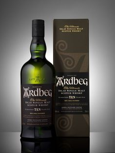 Ardbeg Ten Years Old - Just a little less camp-fire taste then my fav, but still very VERY good.