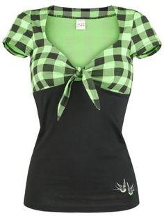 Green Plaid Shirt.