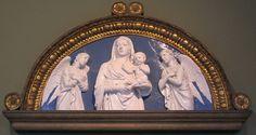 File:Luca della robbia, madonna con due angeli, firenze, 1450 ca..JPG