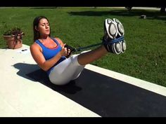 Fierce Minute - Resistance Bands Abs - YouTube