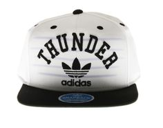 flat brim hats for girls | Adidas Oklahoma City Thunder Flat Brim Mens Snapback Hat [NQ19ZEKK ...