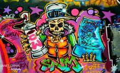 Amazing graffiti - Hosier Lane Melbourne