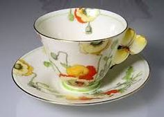 Image result for poppy tea cups and saucers