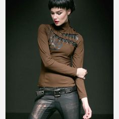 Punk Rave - The Gears Brown - Top