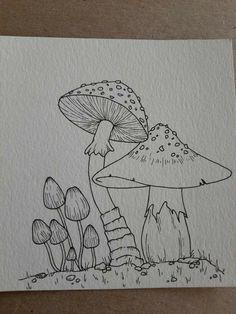 Indie Drawings, Psychedelic Drawings, Art Drawings Sketches Simple, Drawing Ideas, Drawings In Pen, Drawing With Pen, Cool Simple Drawings, Trippy Drawings, Fairy Drawings