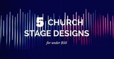 Ever scrolled through Instagram or twitter to look at other churches stage designs? Ever felt really depressed after seeing how much they would cost to do at your church? It's all good. We've all been there! No need to worry though. You can dosome awesome church set designs even if your budget is really low. Here are 5 simple designs I have done over the past couple years. Keep in mind that I am not factoring in the lighting or background in the cost. We have a set of 10 par LED lights I…