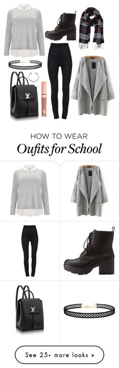 """Thursday - 8:43am - school"" by april-baby123 on Polyvore featuring Studio 8, Dolce&Gabbana, Charlotte Russe, LULUS, Miss Selfridge, Humble Chic and Dolce Vita"