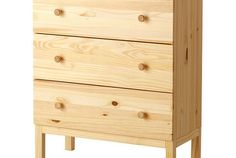 IKEA Dresser Hacks (as Nightstands)