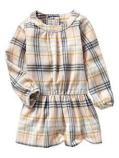 Plaid flannel dress, Gap