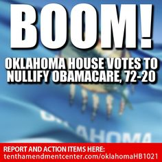 Oklahoma is the place to be!!! NEXT STATE?