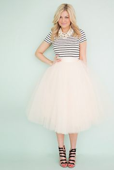 Don't Be a Tulle: How to Style a Tulle Skirt! - YOUNG HOLLYWOOD