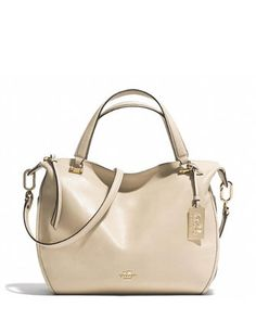 Coach Madison Smythe Satchel in Smooth Leather