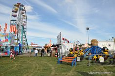 Midway at the Brampton Fall Fair -- see the schedule for bracelet day and special prices for students. http://bramptonfair.com