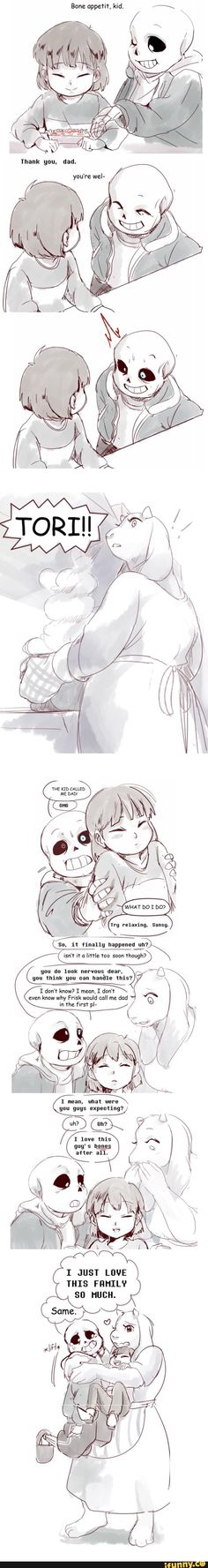 I don't normally ship Soriel but this was cute