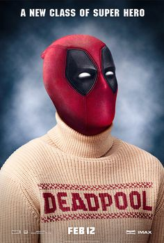 Day 5 - EXCLUSIVE HOLIDAY POSTER: 'Deadpool'   Fandango