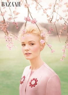 Carey Mulligan for @Lisa Harper's Bazaar - June 2013. Repinned by www.fashion.net