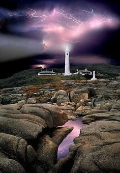 Port Hicks Lighthouse in Victoria, Australia